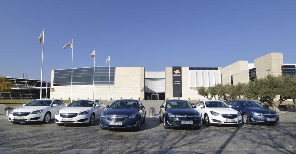 GLP Entrega de flota Opel a Repsol