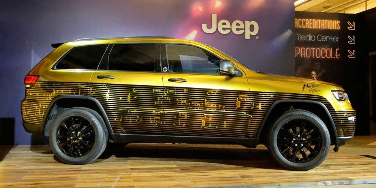 Tres prototipos de Jeep que homenajean la música