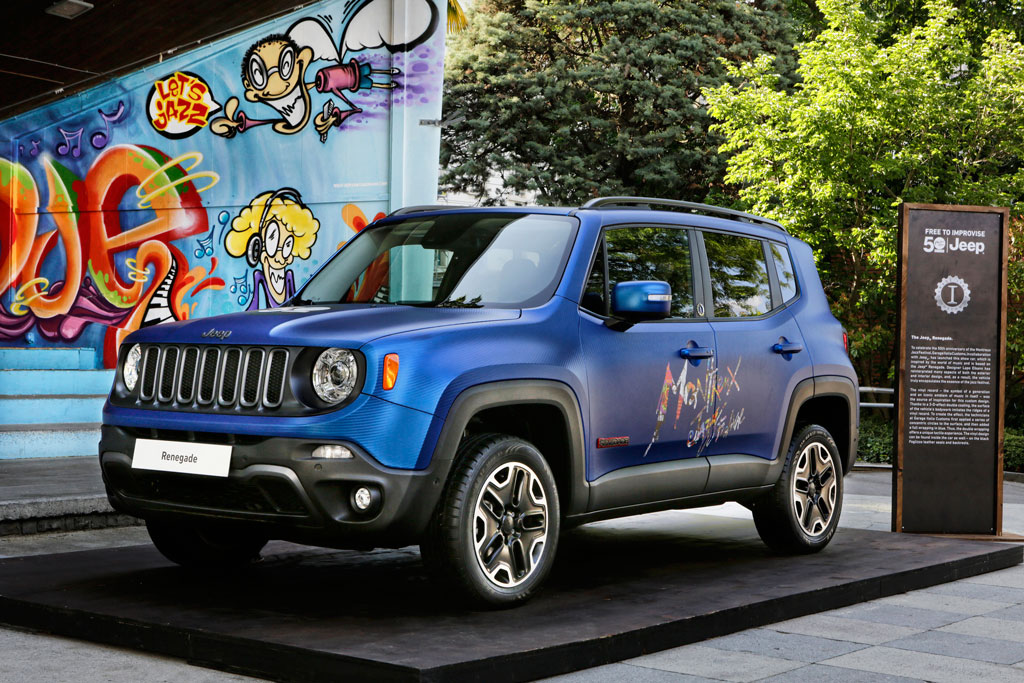 Jeep Renegade Vinyl