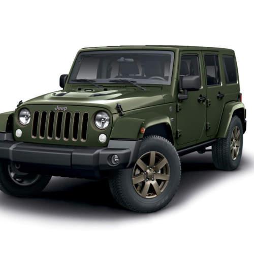 Jeep anuncia el nuevo Wrangler 75 aniversario