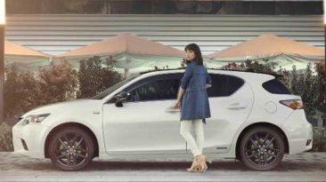 Lexus CT 200h 2017 lateral estática