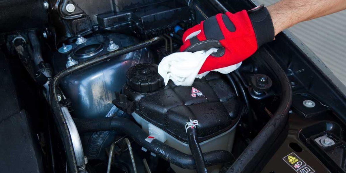 Limpieza impecable del vano motor