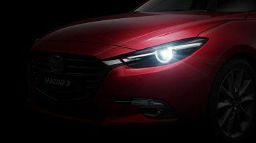 Nuevo Mazda3 2017 LED Adaptativos