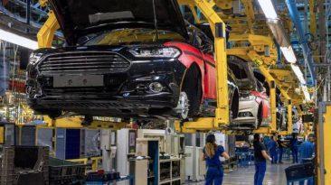 Crece la producción Planta de Ford-Almussafes Montaje Mondelo