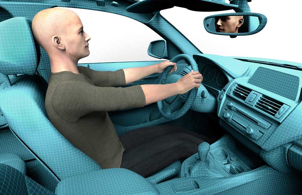 Posición de conducción