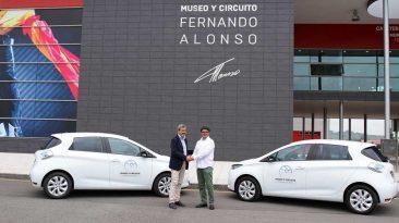 Renault ZOE y Fundación Fernando Alonso