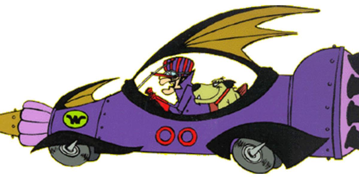 Los mejores coches de dibujos animados