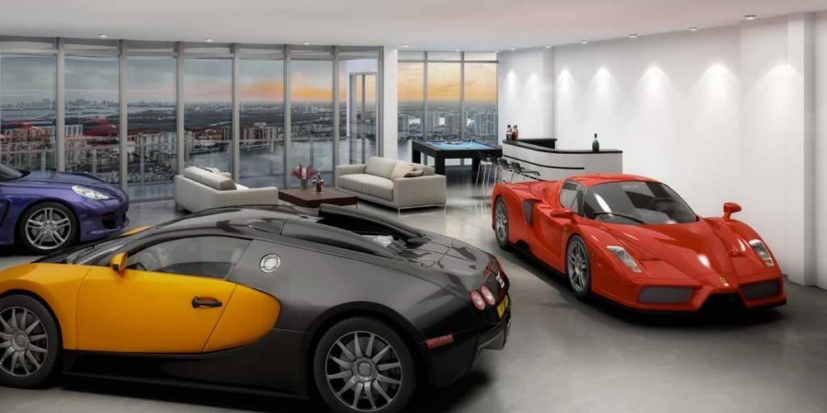 El ltimo capricho de los millonarios un ascensor para for Appoggiarsi all aggiunta del garage
