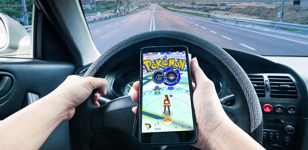 Pokémon Go accidentes