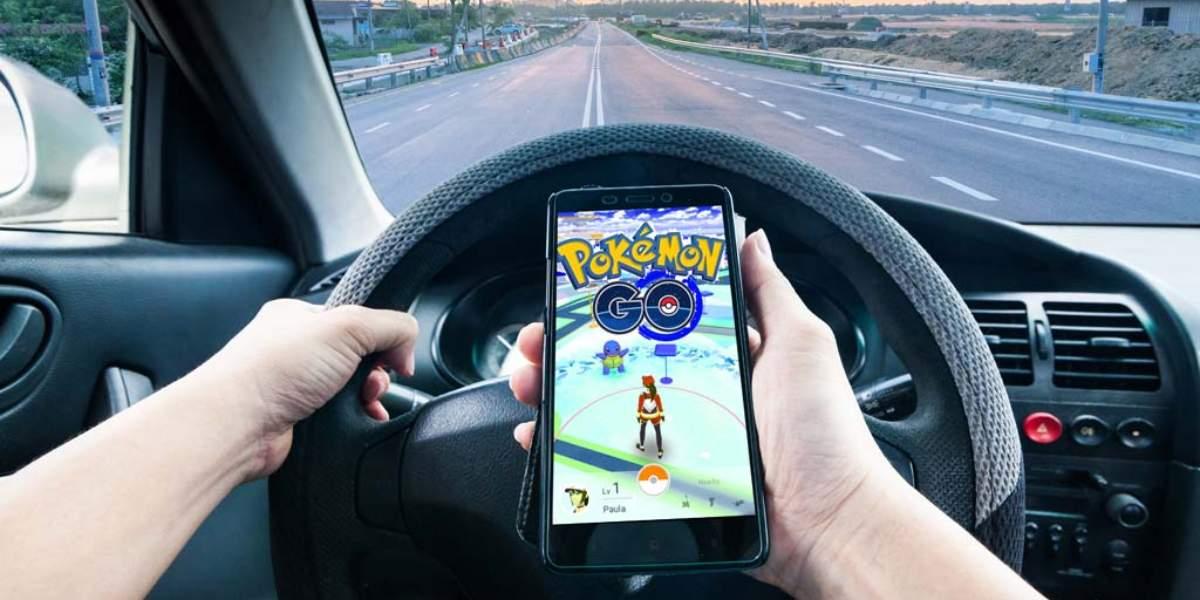 Pokémon Go, una amenaza para la seguridad vial