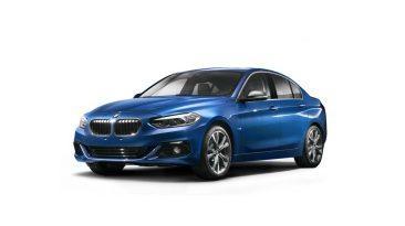 BMW Serie 1 Sedán frontal