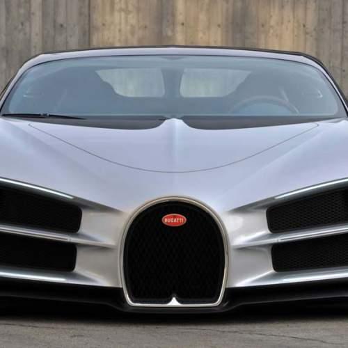 El frontal del Bugatti Chiron que debió ser y no fue