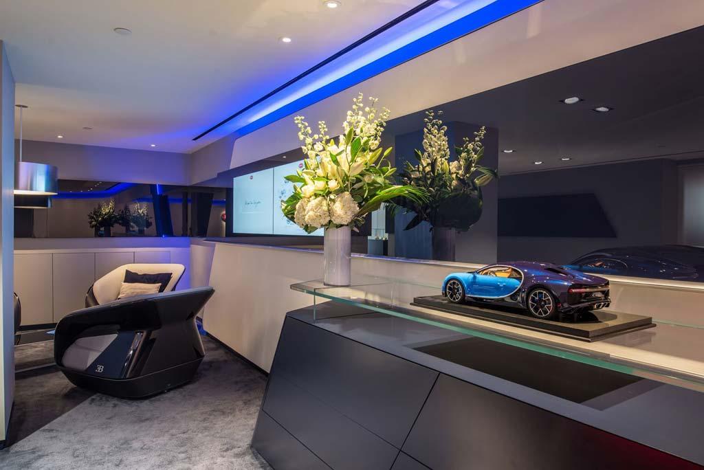 Concesionario Bugatti en Londres