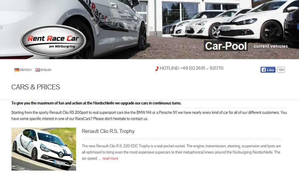 Guía de viaje a Nürburgring empresas alquiler coches