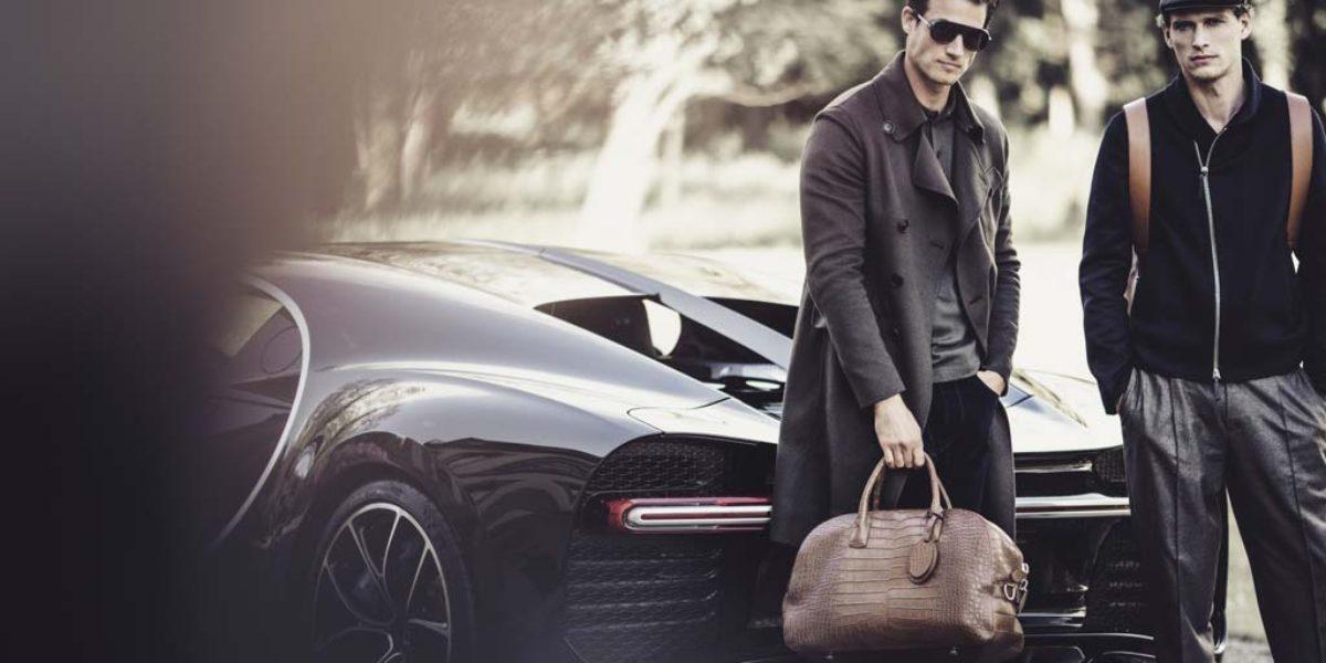Bugatti y Giorgio Armani crean una exclusiva línea de moda