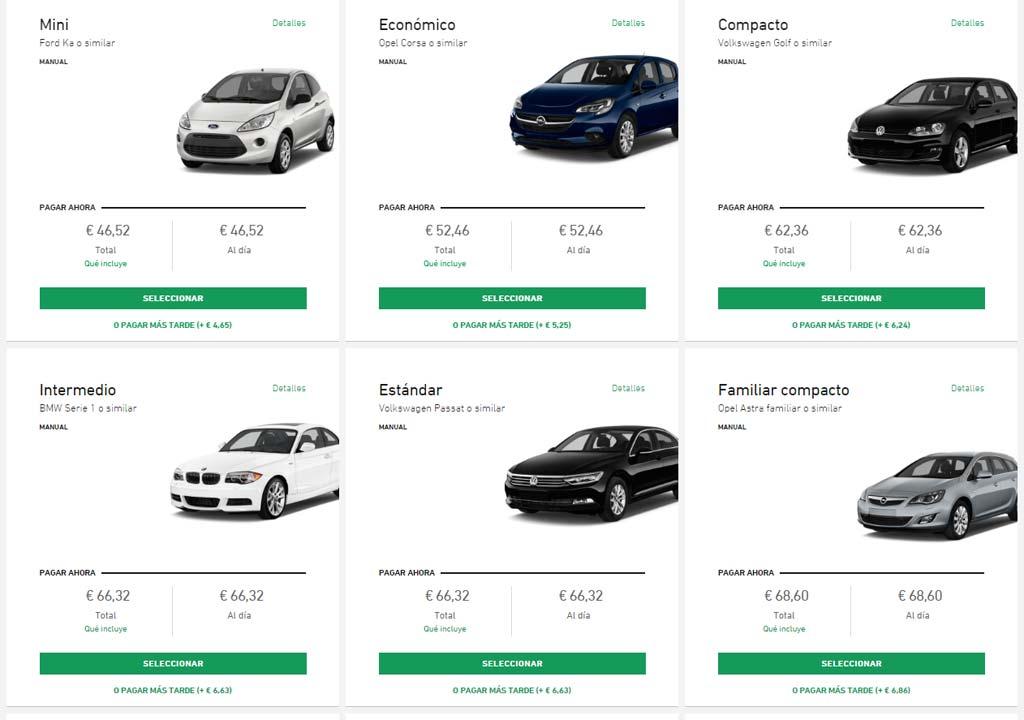 Guía de viaje a Nürburgring alquiler coches