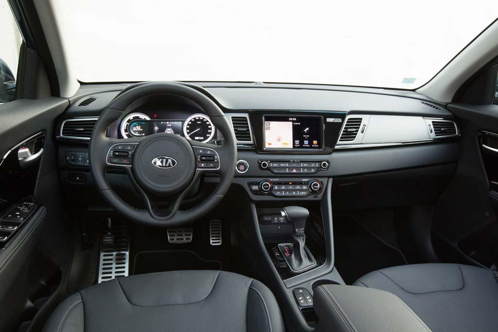 Prueba Kia Niro Hybrid interior
