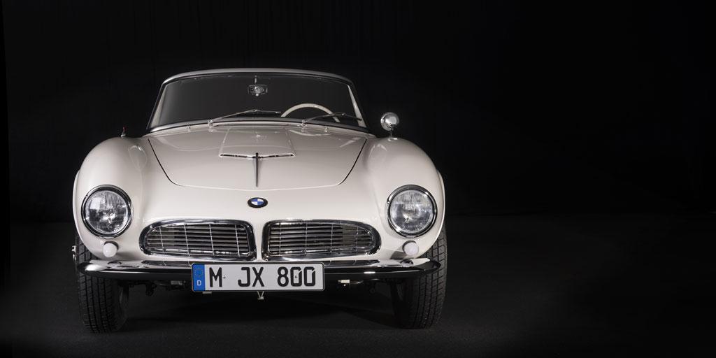 El espíritu de Elvis sigue viviendo gracias a su BMW 507.
