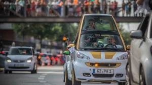 La mayor concentración de smart reúne 1.635 coches (fotos)