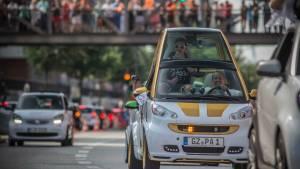 La mayor concentración de smart reúne 1.635 coches (fotos)