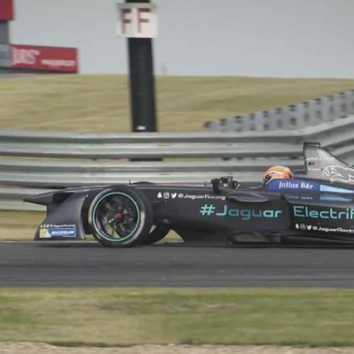 El Jaguar I-Type sigue 'poniéndose guapo' para la Fórmula E