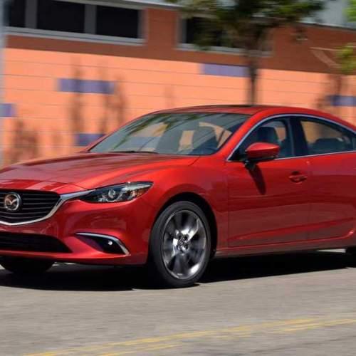 Ligera puesta al día en el Mazda6 2017