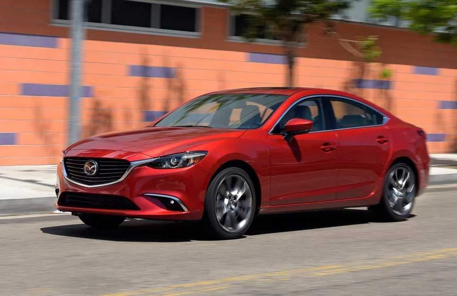Mazda6 2017 lateral dinámica