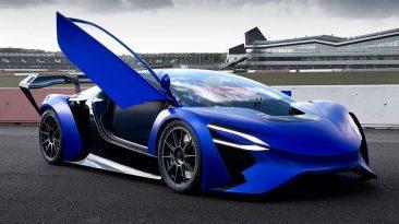 Primer diseño del Techrules GT96