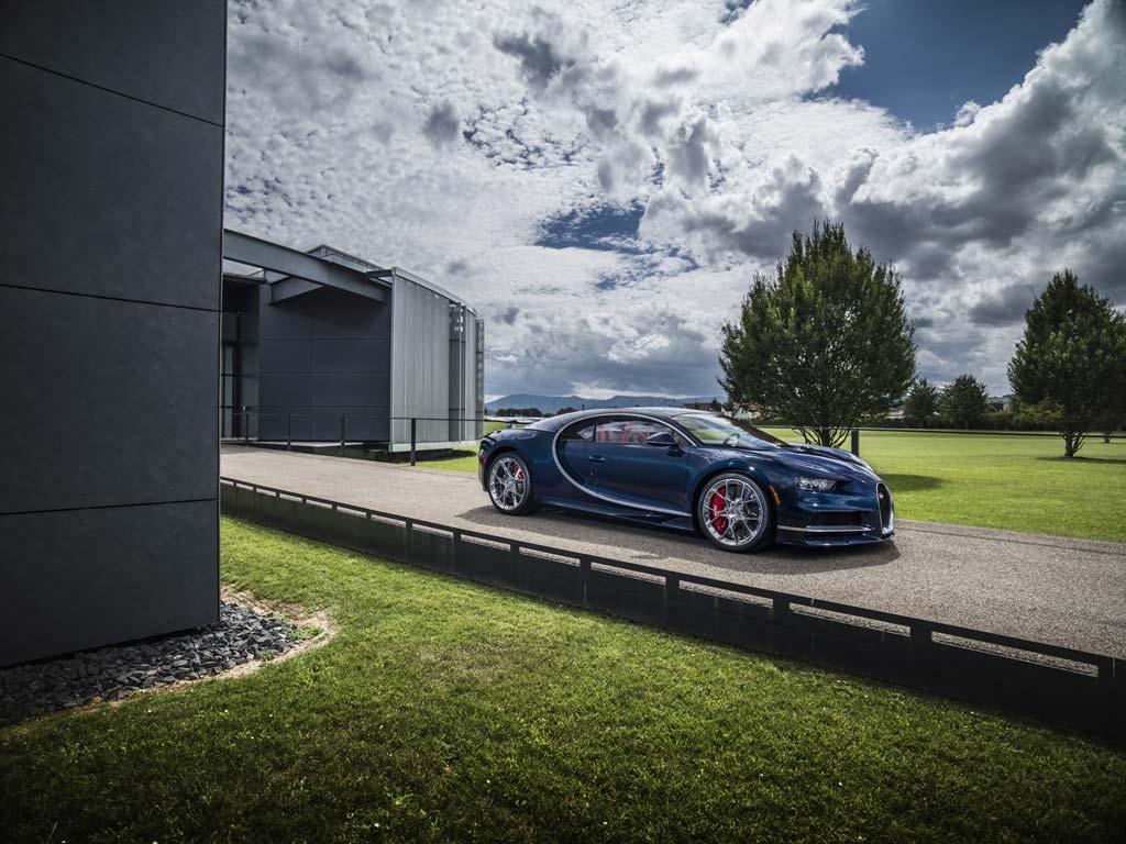 Bugatti Chiron prototipo príncipe saudí
