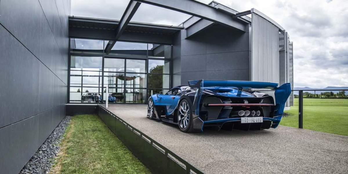 Un principe saudí compra un Bugatti Chiron prototipo y el espectacular Vision GT