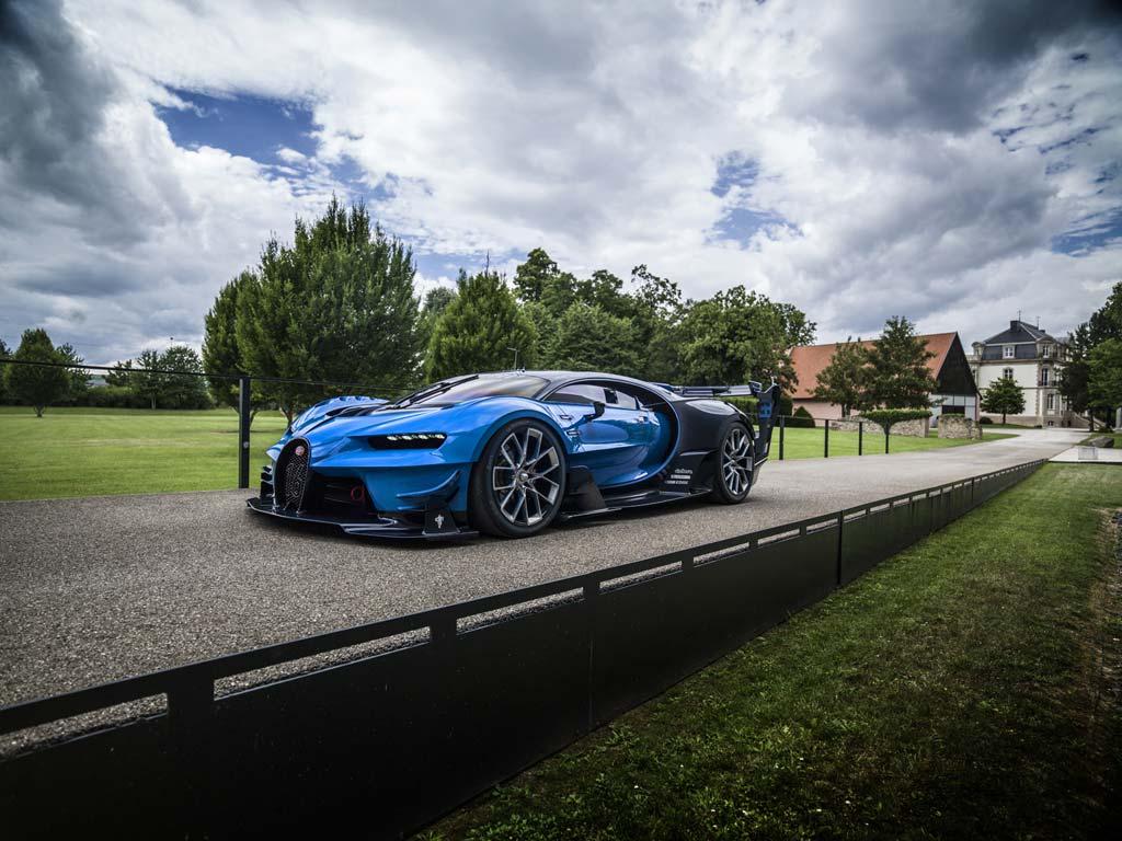 Bugatti Vision Gran Turismo príncipe saudí