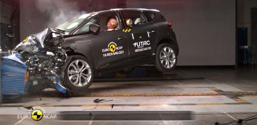 Resultados EuroNCAP Renault Scénic, Subaru Levorg, Kia Niro Toyota Hilux