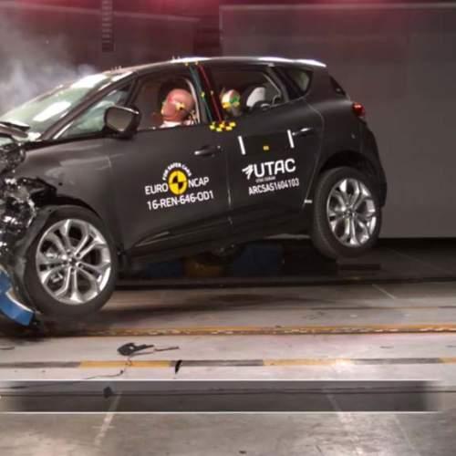 Renault Scénic, Subaru Levorg, Kia Niro y Toyota Hilux, 5 estrellas EuroNCAP