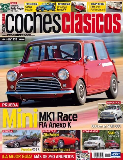 revista COCHES CLÁSICOS número 138