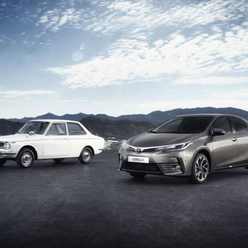 El Toyota Corolla cumple medio siglo