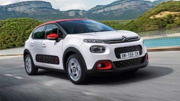 Citroën C3 2017 delantera dinámica