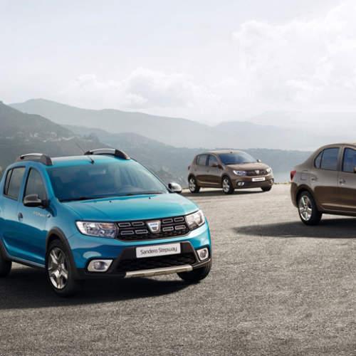 Llegan los Dacia Sandero y Logan 2017 al Salón de París