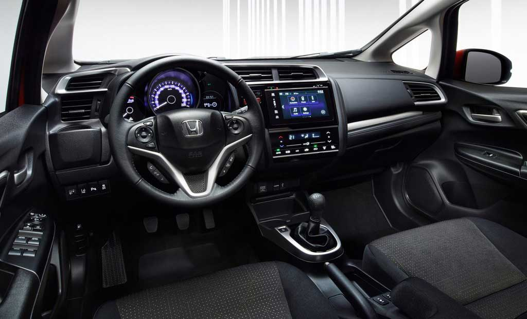 Interior del Honda Jazz 2016