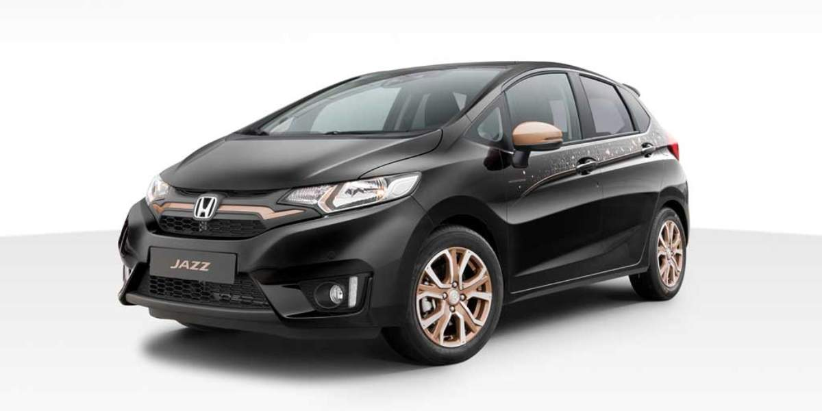 Honda Jazz Spotlight Edition 2017, bronce distintivo