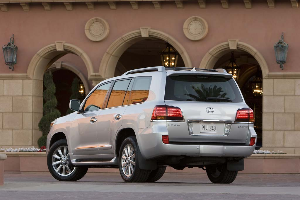 Lexus LX 570 coches Messi