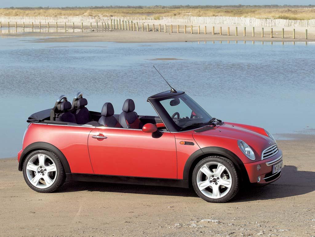 Mini Cabrio coches Messi