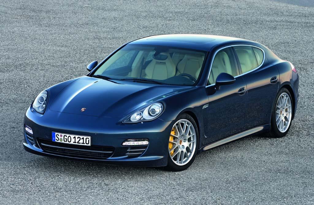 Porsche Panamera Coches Messi