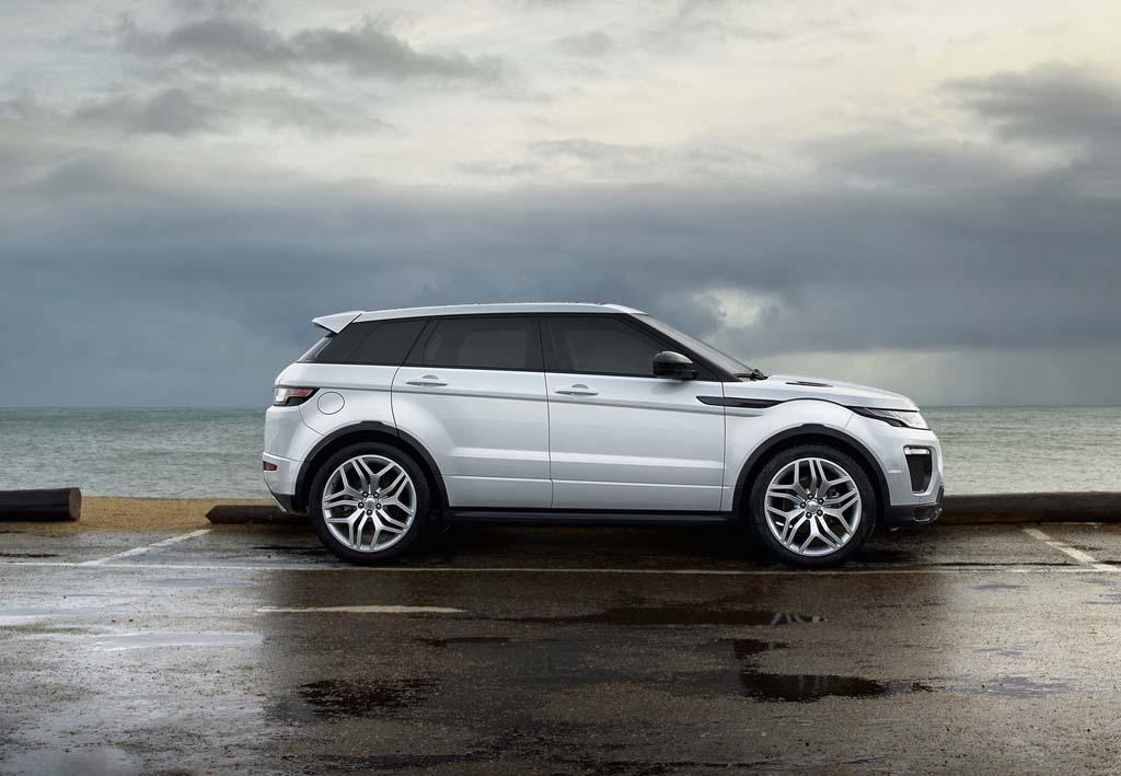 Range Rover Evoque coches Messi