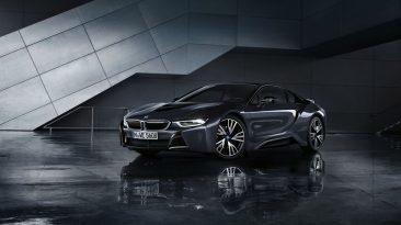 BMW i8 Protonic Silver Edition frontal