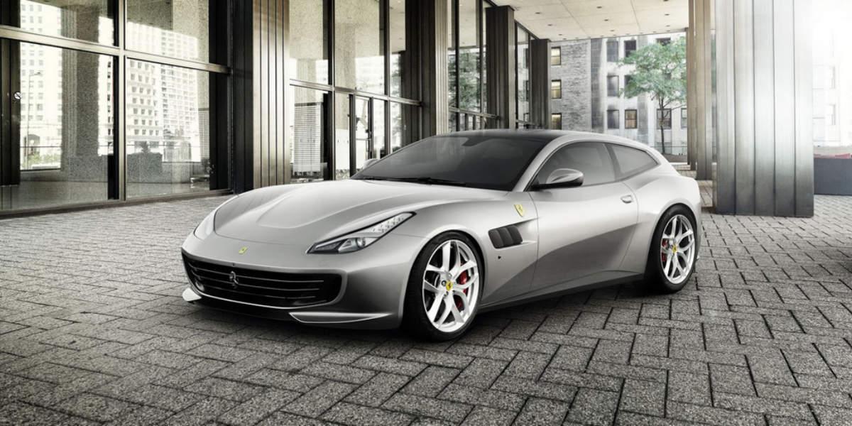 Ferrari GTC4Lusso T, con T de turbo