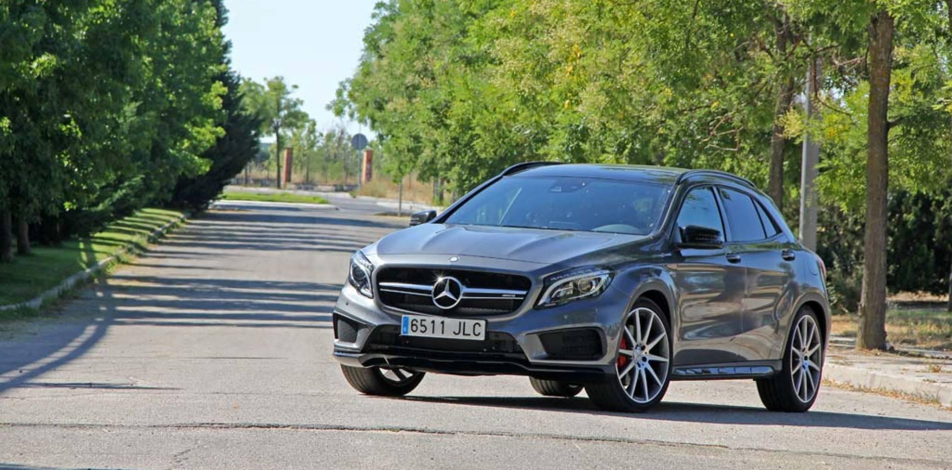 Prueba Mercedes-AMG GLA 45 4MATIC, nunca más un SUV fue aburrido