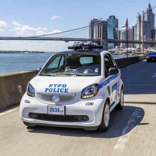 La Policía de Nueva York patrullará con 250 smart fortwo