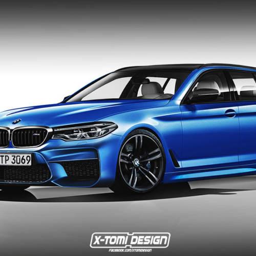 ¿Cómo sería el BMW M5 Touring?