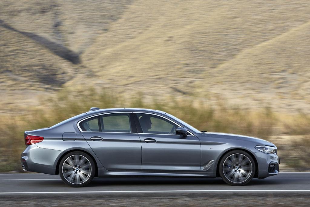 Nuevo BMW Serie 5 2017 - Perfil