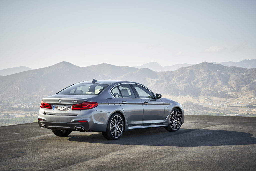 Nuevo BMW Serie 5 2017 - Trasera